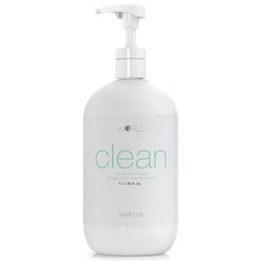 WORLD CLEAN Hair and Skin Cleanser