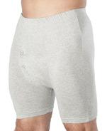 Wearever Regular Absorbency Grey Cotton Boxer Briefs