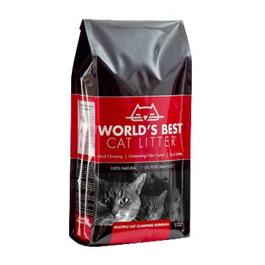 World\'s Best 100% Natural Cat Litter Multiple Cat Formula