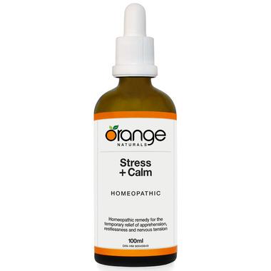 Orange Naturals Stress + Calm