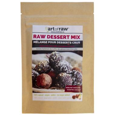 Art of Raw Hazelnut Chocolate Raw Dessert Mix