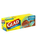 Glad Zipper Freezer Bags