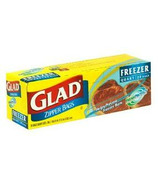 Glad Zipper Freezer Bags