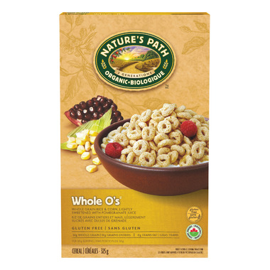 Nature\'s Path Organic Whole O\'s Cereal
