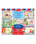 Melissa & Doug My Town Reusable Sticker Pad