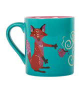 Little Blue House Ceramic Mug For Fox Sake