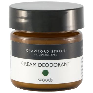 Crawford Street Woods Deodorant Cream