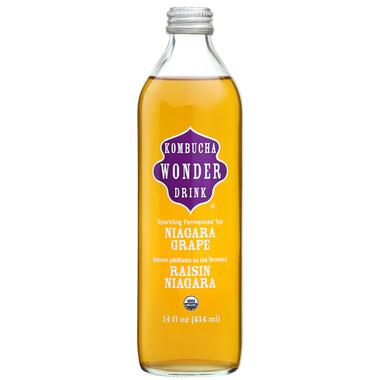 Kombucha Wonder Drink Niagara Grape