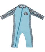 Stonz Infant Sun Suit Hibiscus