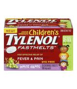 Children's Tylenol Fever & Pain Fastmelts