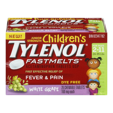 Children\'s Tylenol Fever & Pain Fastmelts