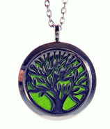 Finesse Home Tree of Life Aroma Pendant Necklace
