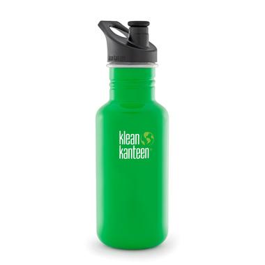 Klean Kanteen Classic Water Bottle with Sport Cap 3.0 Organic Garden