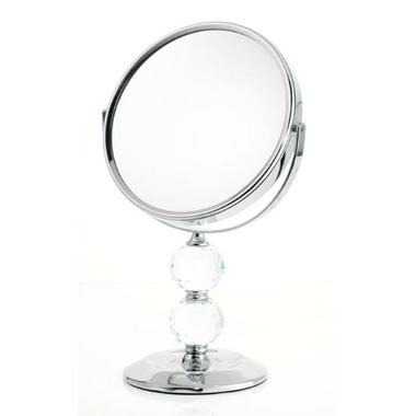 Danielle by Upper Canada Double Crystal Ball Vanity Mirror