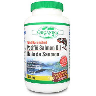 Organika Wild Harvested Pacific Salmon Oil