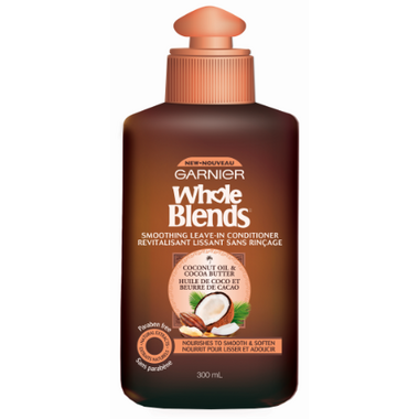 Garnier Whole Blends Coconut Oil Cocoa Butter Leave In Conditioner