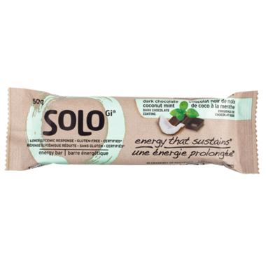 SoLo Gi Dark Chocolate Coconut Mint Bars