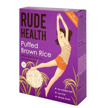 Rude Health Gluten Free Puffed Brown Rice
