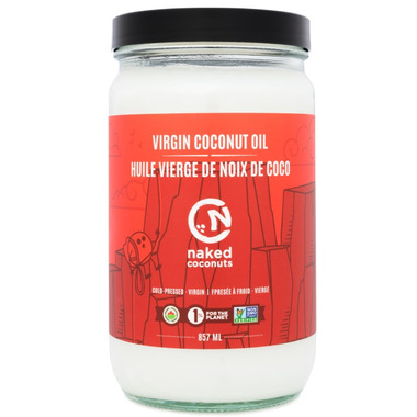 Naked Coconuts Organic Virgin Coconut Oil