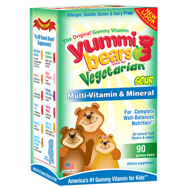 Yummi Bear Vegetarian Multivitamins