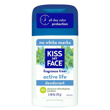 buy kiss my face active life aluminum free deodorant at free shipping 35 in canada. Black Bedroom Furniture Sets. Home Design Ideas