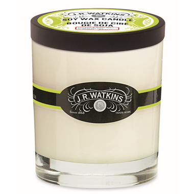 J.R. Watkins Aloe & Green Tea Soy Candle