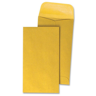 Business Source Little Coin Kraft Envelopes