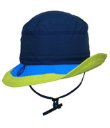 Calikids Quick Dry Bucket Hat Navy Combo