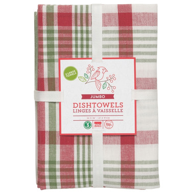 Now Designs Pure Kitchen Holiday Dishtowel Set