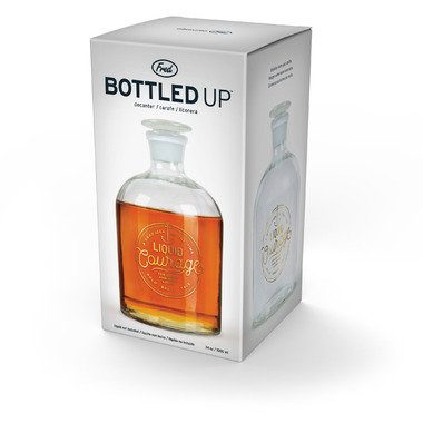 Fred and Friends Bottled Up Decanter Liquid Courage