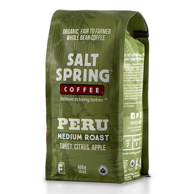 Salt Spring Coffee Peru