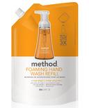 Method Foaming Hand Wash Refill Orange Ginger