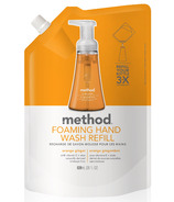 Method Foaming Hand Wash Refill Orange Ginger