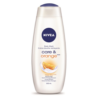 Nivea Care & Orange Body Wash