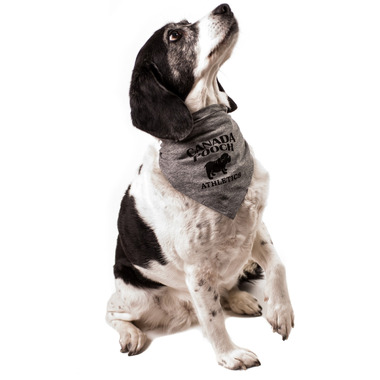 Canada Pooch Cozy Caribou Bandana Grey Sizes S-XL