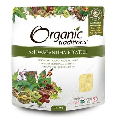 Organic Traditions Ashwagandha Powder