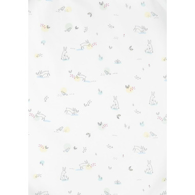 Stokke Sleepi Crib Fitted Sheet Soft Rabbit