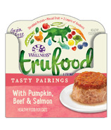 Wellness TruFood Wet Cat Food Tasty Pairings with Pumpkin, Beef & Salmon