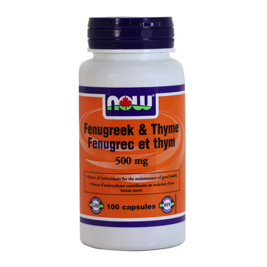 NOW Foods Fenugreek & Thyme