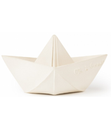 Oli and Carol Origami Boat White