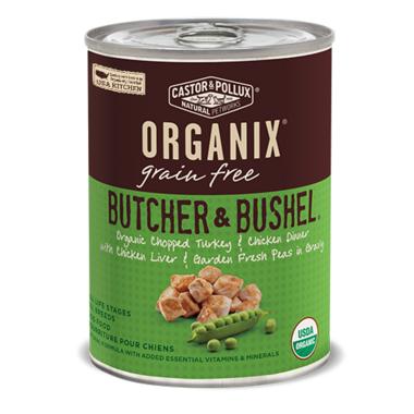 Castor & Pollux Organix Butcher & Bushel Dog Food