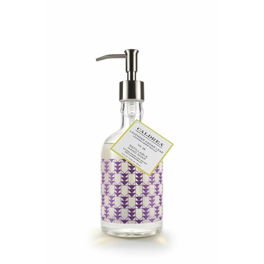 Caldrea Glass Refillable Hand Soap Lavender Cedar Leaf