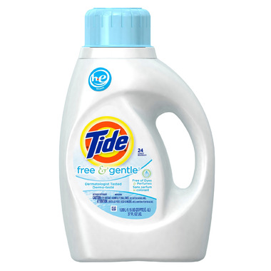 Tide Free & Gentle HE Liquid Laundry Detergent