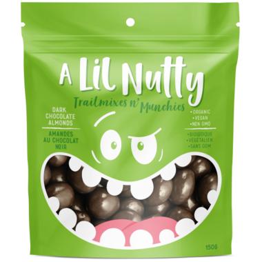 A Lil Nutty Dark Chocolate Almonds