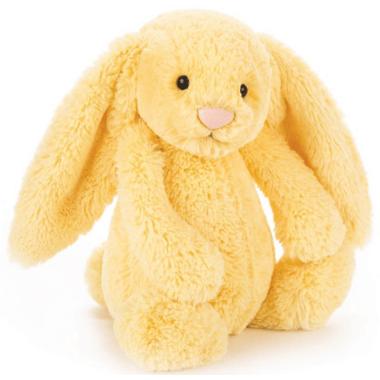 Jellycat Bashful Lemon Bunny