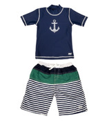 Banz Two Piece Swimsuit Anchor