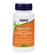 NOW Foods Peppermint Oil Gels