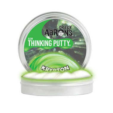 Crazy Aaron\'s Thinking Putty Krypton