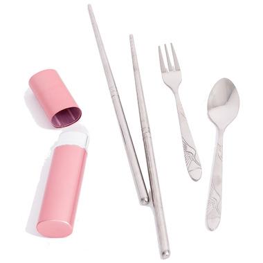 Onyx Pink Cutlery Set