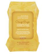 Natural Inspirations Orange Ginger Facial Towelettes